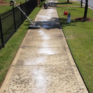 Concrete Cleaning | Before